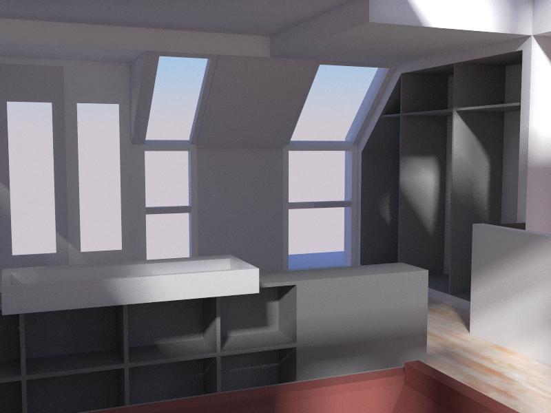 Dakopbouw interieur